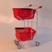 Тележки покупательские  для корзин