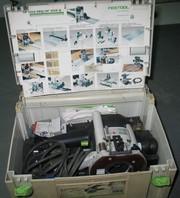 Продам оборудование б/у Станок гибочный,  Фрезер,  Лобзик Festool и др.