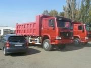 Самосвалы Хово,  Howo в Омске ,  6х4 25 тонн ,  2300000 руб в наличии Евро 2 по ПТс Евро 4.