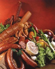 Колбасные изделия в Нижнем Тагиле.