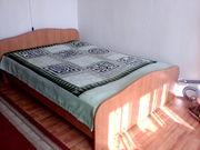 Кровать двух спальная(вместе с матрасом-матрас на пружинах)