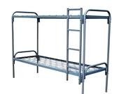 Кровати металлические оптом,  койки армейские железные для строителей,  рабочих,  общежитий,  турбаз - от производителя